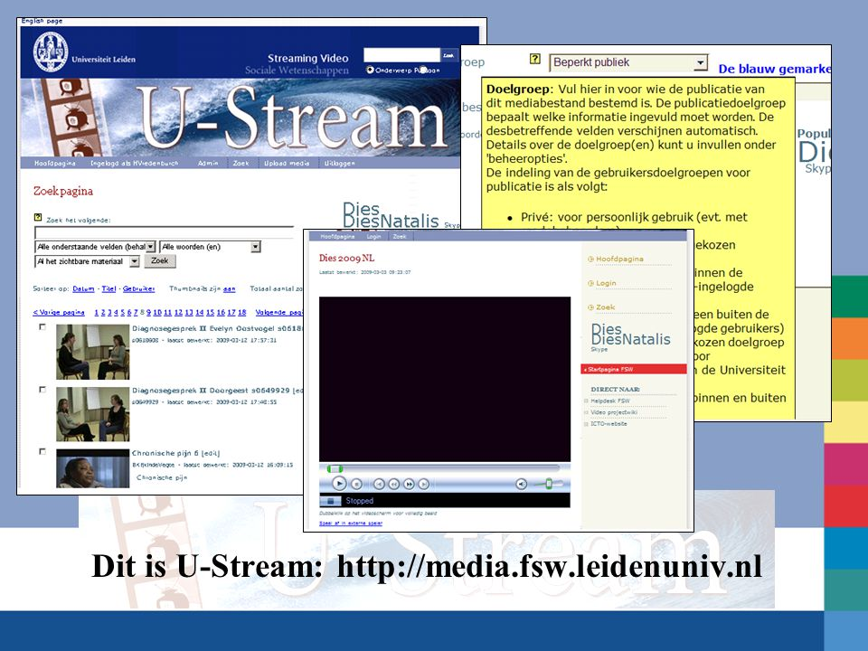 Stap 4 Copy/paste: html-tekst van een embedded media player (Windows, YouTube, oid)