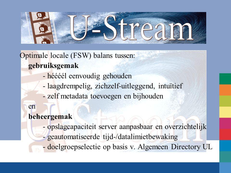 Stap 6.2 Copy/paste de streamlink URL invoegen