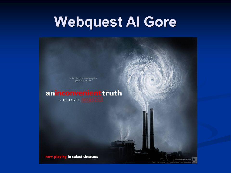Webquest Al Gore