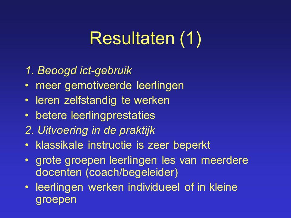 Resultaten (1) 1.