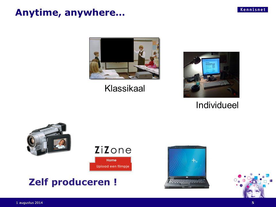 Vragen aan U.Wie kijkt video via internet . Wie kent Uitzending gemist, Teleblik, Klassetv .