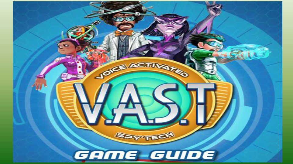 De VAST-game Voice Activated Spy Game http://vimeo.com/aroontan/lingo-trailer  Verbetert uitspraak Engels van non-native speakers (fonetiek, vlotheid lezen, klemtoon, and intonatie)  40 uur training  Doelgroep = leerlingen PO/VO (10 – 16 jaar)  NB: Weinig empirisch bewijs dat serious games effectief in onderwijs