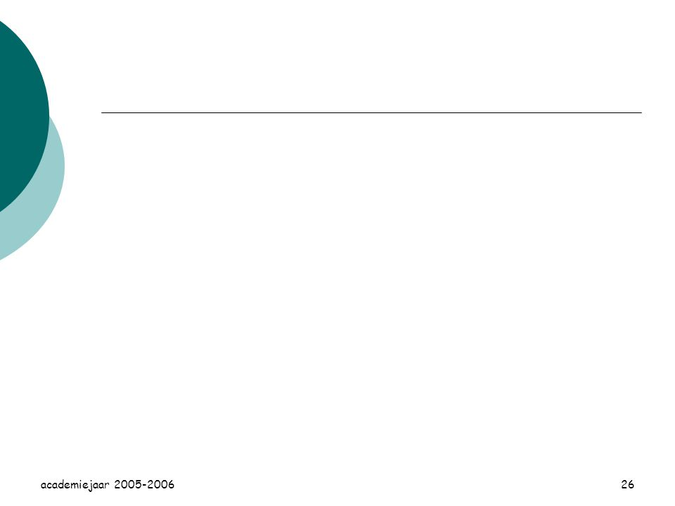 academiejaar 2005-200626