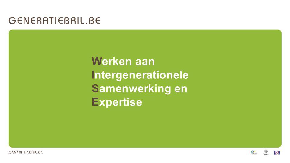 Werken aan Intergenerationele Samenwerking en Expertise