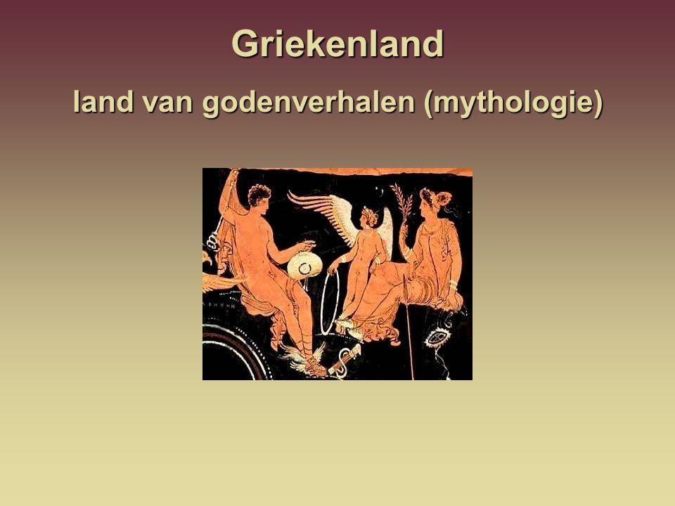 Griekenland land van godenverhalen (mythologie)