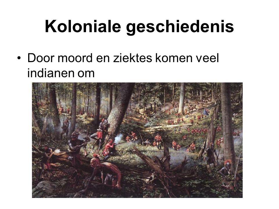 Slavernij Om tekort aan arbeiders aan te vullen werden uit Afrika slaven gehaald.