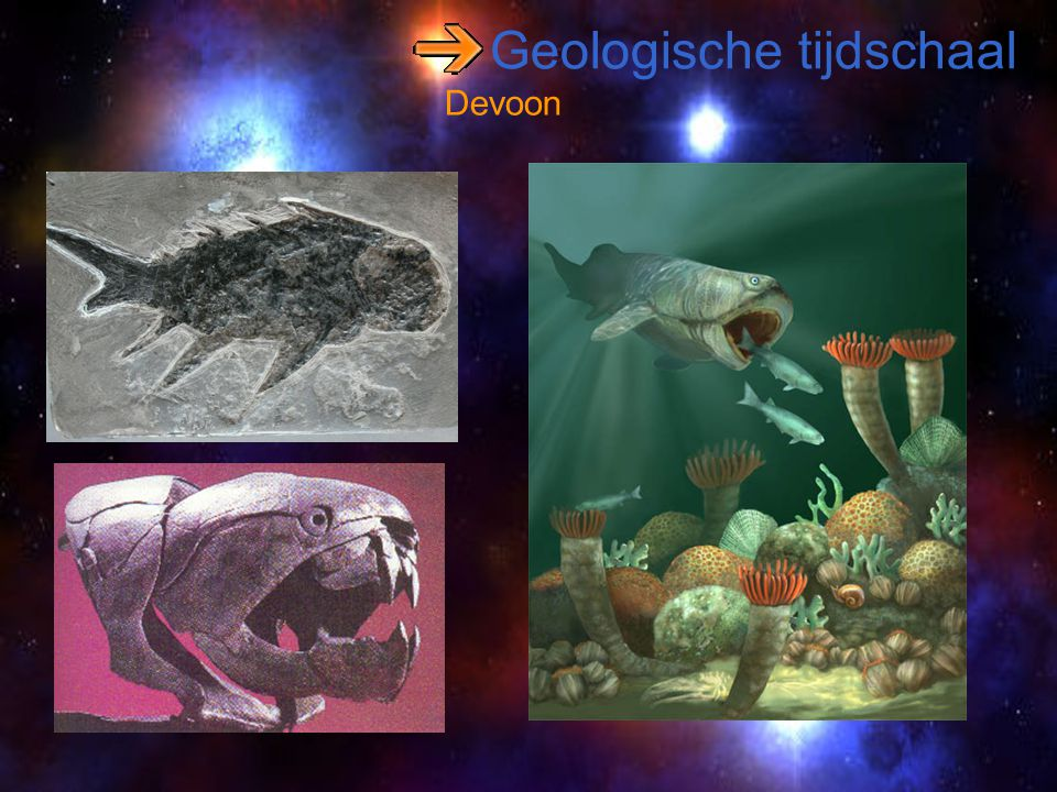 Geologische tijdschaal Devoon