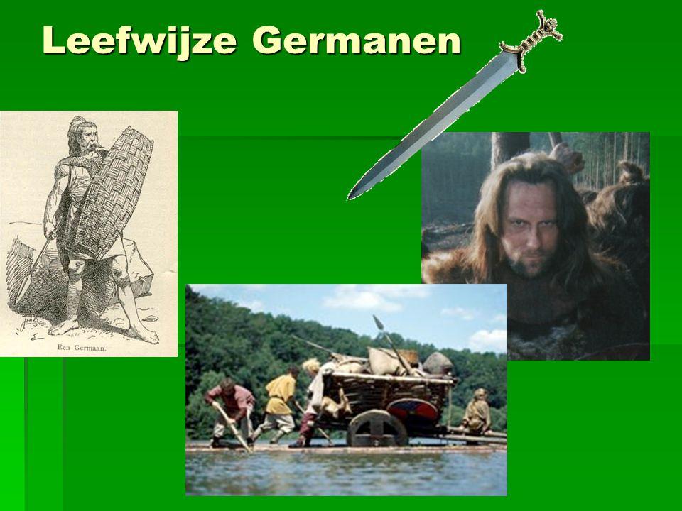 Leefwijze Germanen
