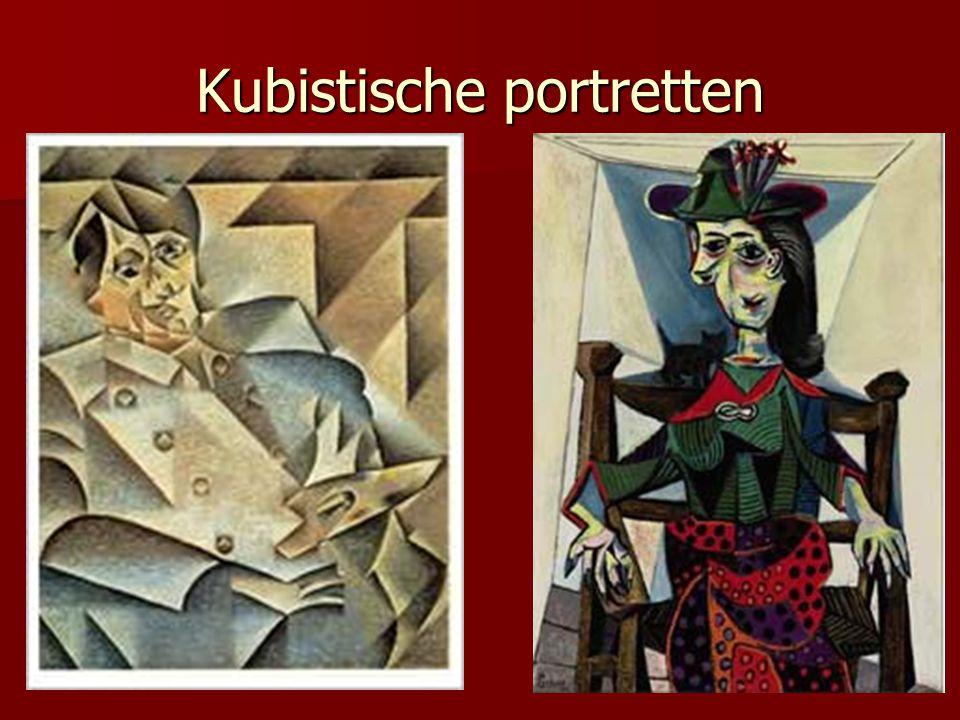 Je eigen kubistische portret.