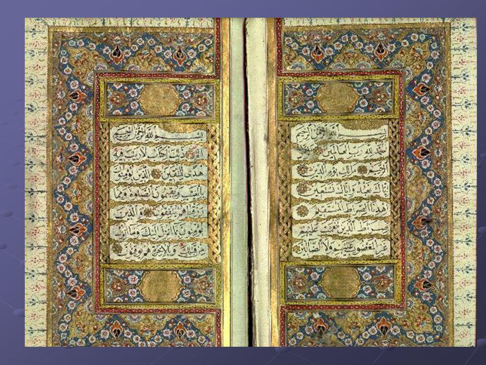 2. Koran: Openbaring en uitspraken van Mohammed Openbaring en uitspraken van Mohammed Één geloof, één moraal, één wet Één geloof, één moraal, één wet