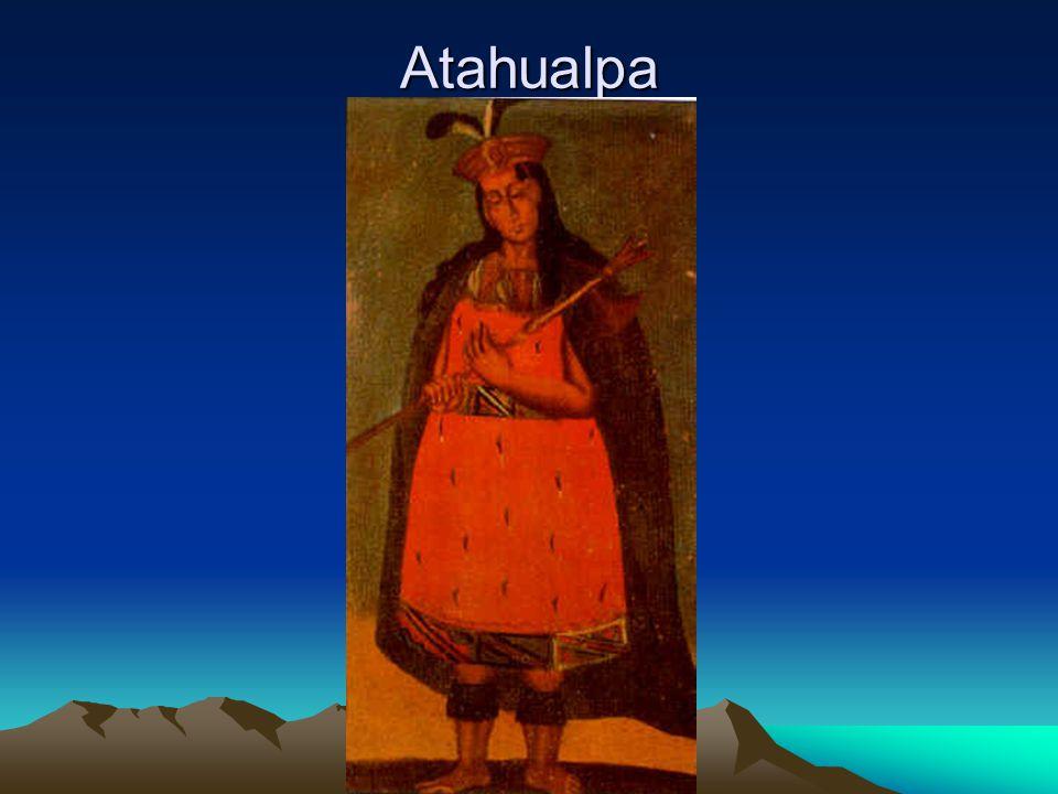 Losprijs Nu had Pizarro aan Atahualpa beloofd hem vrij te laten als hij een grote kamer vol met goud kon laten vullen als losprijs.