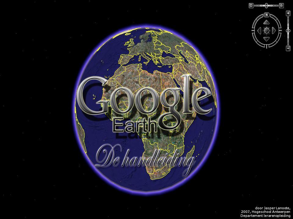 V L I Z www.vliz.be Zeelessen Placemarkers De functie, dat het gebruik van Google Earth echt aangenaam maakt, is de placemarkers.