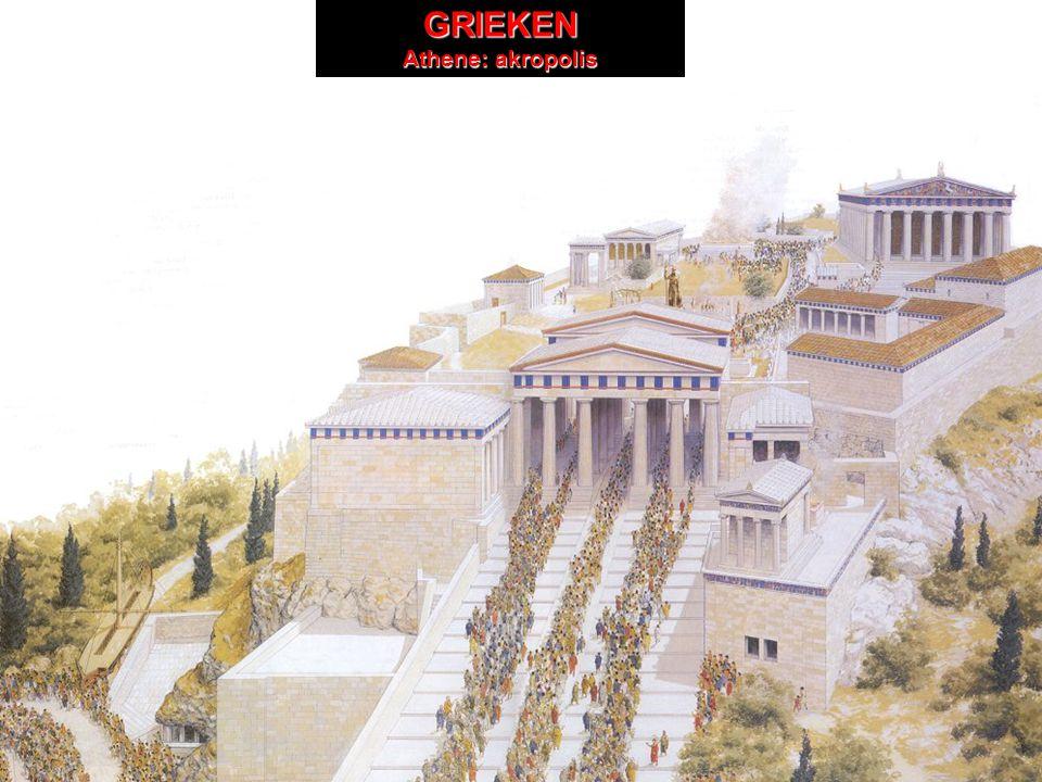 GRIEKEN GRIEKEN Athene: akropolis