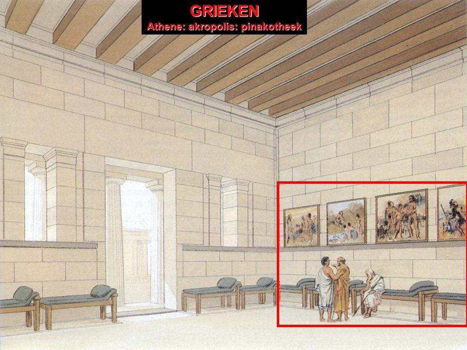 GRIEKENGRIEKENAtheneGRIEKEN Athene: akropolis GRIEKEN Athene: akropolis: pinakotheek