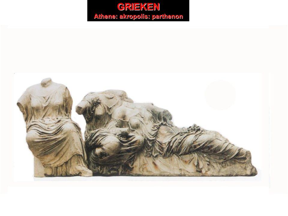 GRIEKEN Athene: akropolis GRIEKEN Athene: akropolis: parthenon