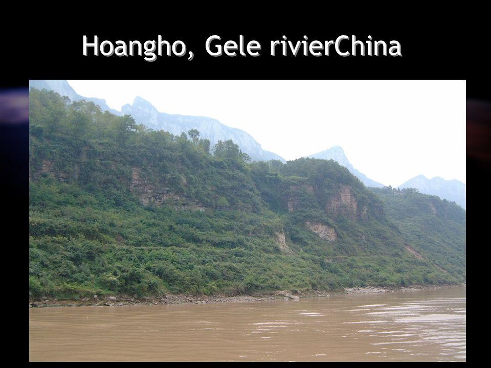 Hoangho, Gele rivierChina