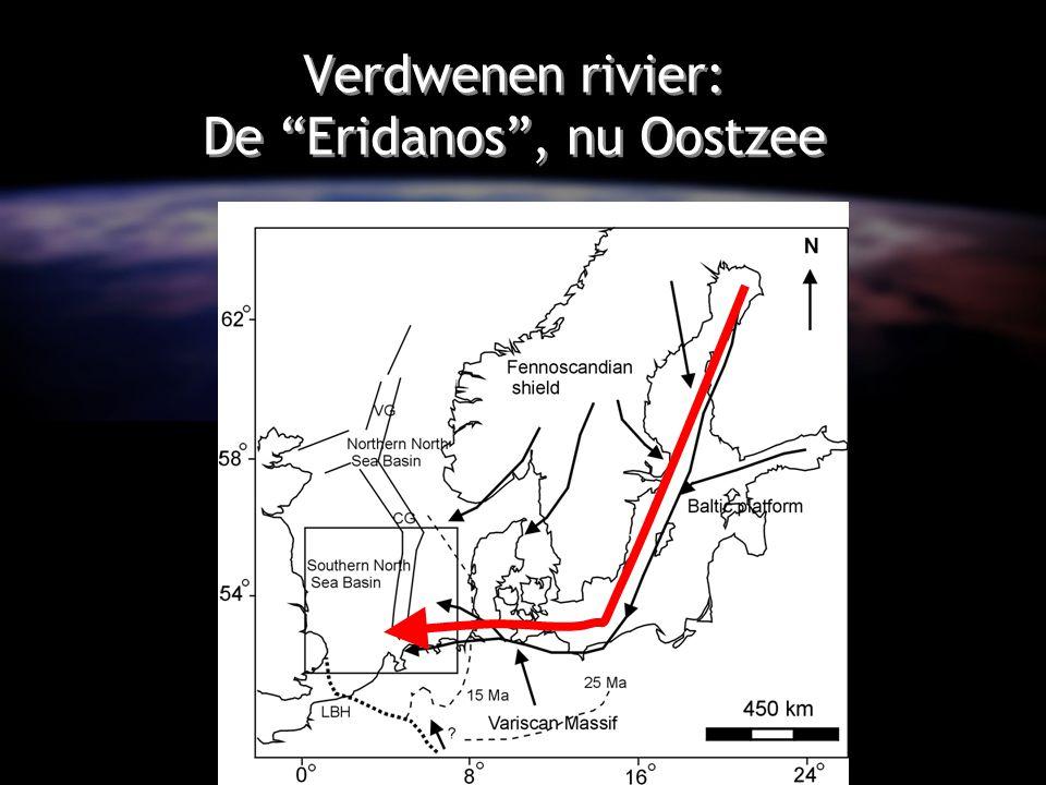 """Verdwenen rivier: De """"Eridanos"""", nu Oostzee"""