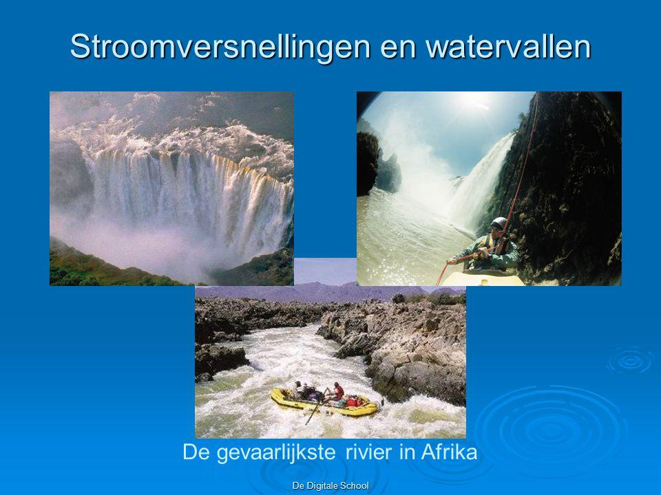 De Digitale School Stroomversnellingen en watervallen De gevaarlijkste rivier in Afrika