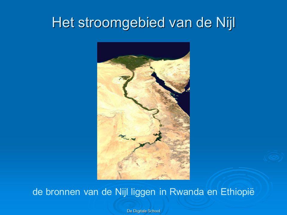 De Digitale School Dubbele oorsprong In Ethiopië bij het Tanameer als Blauwe Nijl en in Ruwanda (bij de rivier Kagera) als Witte Nijl