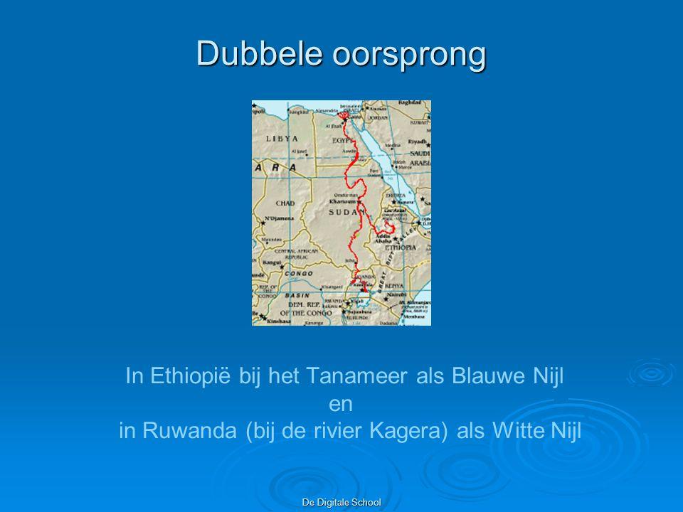De Digitale School Nee, het Victoriameer is een natuurlijk meer, het Nassermeer ontstond toen de Aswandam klaar was Verder.