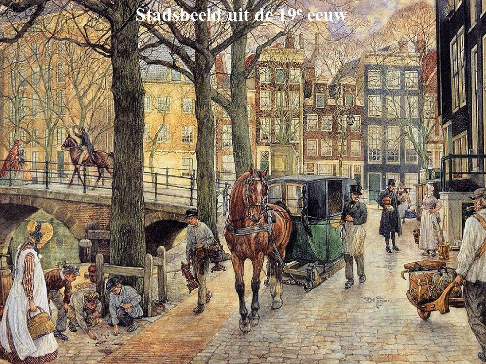 Stadsbeeld uit de 19 e eeuw