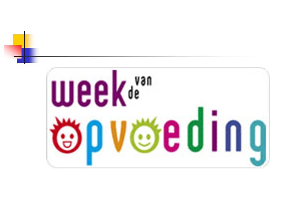 Vindt jaarlijks plaats Vlaams initiatief georganiseerd vanuit EXPOO (Expertisecentrum Opvoedingsondersteuning) Meer informatie: www.expoo.bewww.expoo.be Thema: Opvoeden is meegroeien