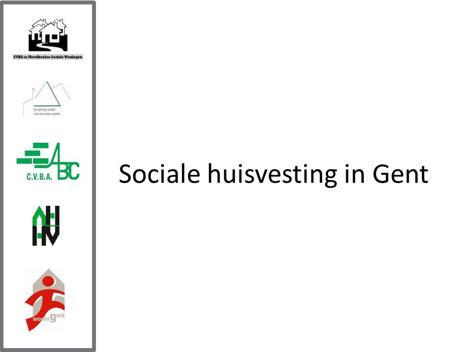 Sociale huisvesting in Gent