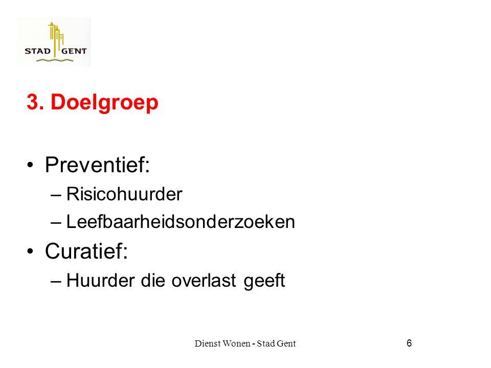 Dienst Wonen - Stad Gent17 6.