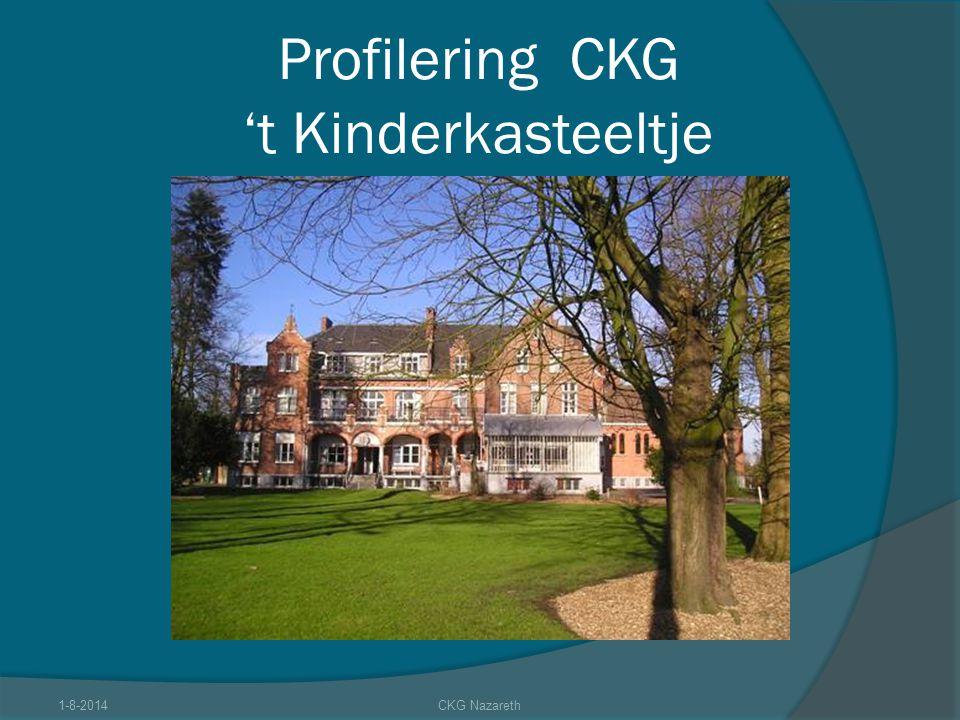 Profilering CKG 't Kinderkasteeltje 1-8-2014CKG Nazareth