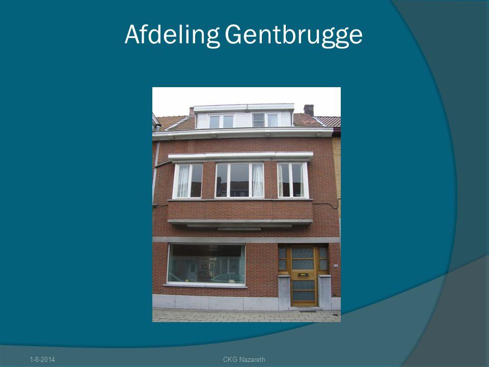Afdeling Gentbrugge 1-8-2014CKG Nazareth