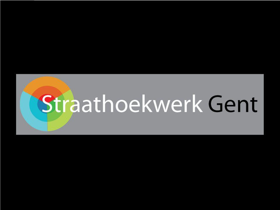 Overzicht SHW Gent De cirkel van het straathoekwerk Straathoekwerk aan de Watersportbaan