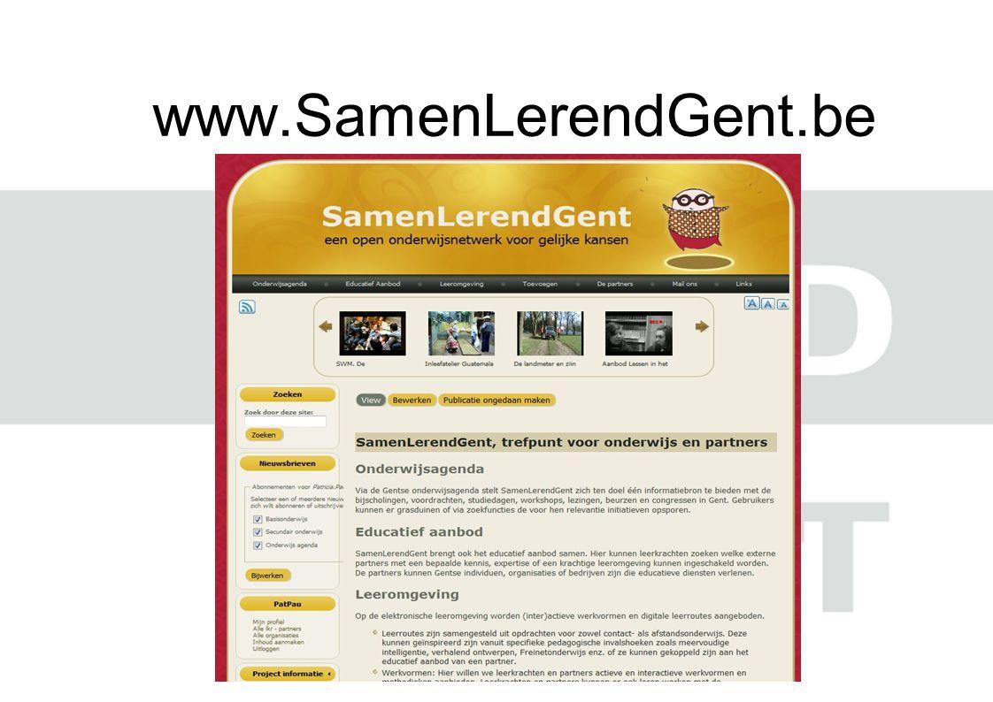 www.SamenLerendGent.be