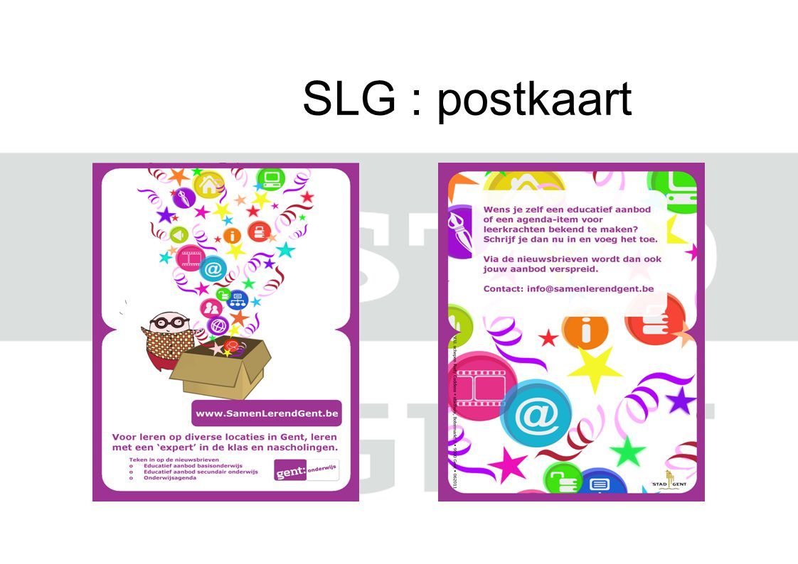 SLG : postkaart