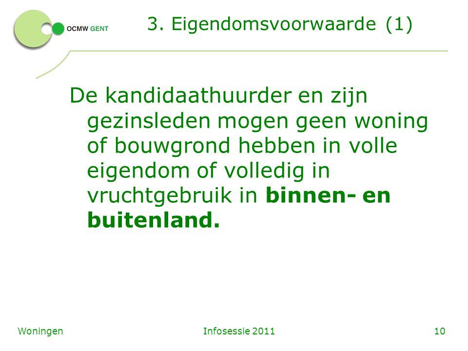 Infosessie 201110Woningen 3.