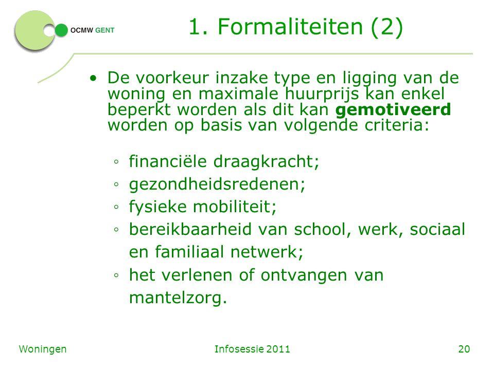 Infosessie 201120Woningen 1.
