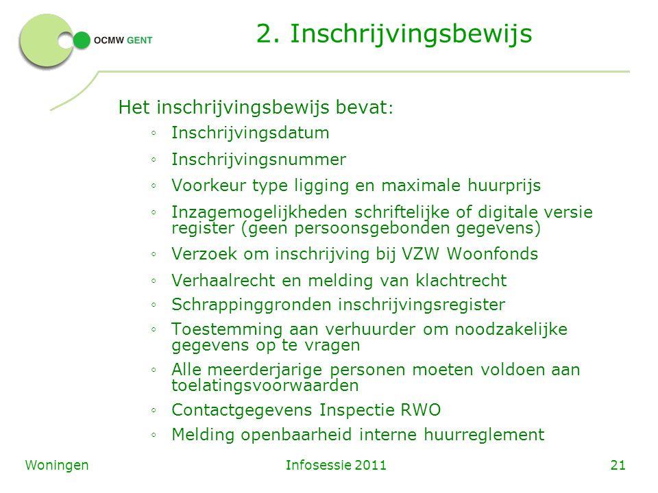 Infosessie 201121Woningen 2.
