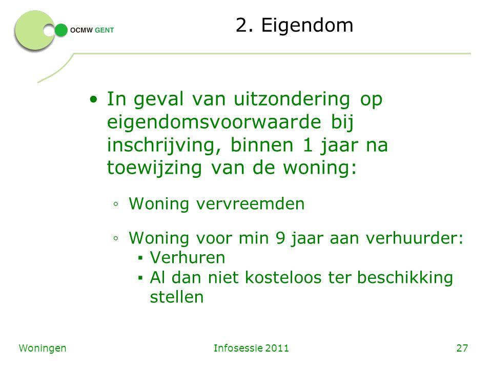 Infosessie 201127Woningen 2.