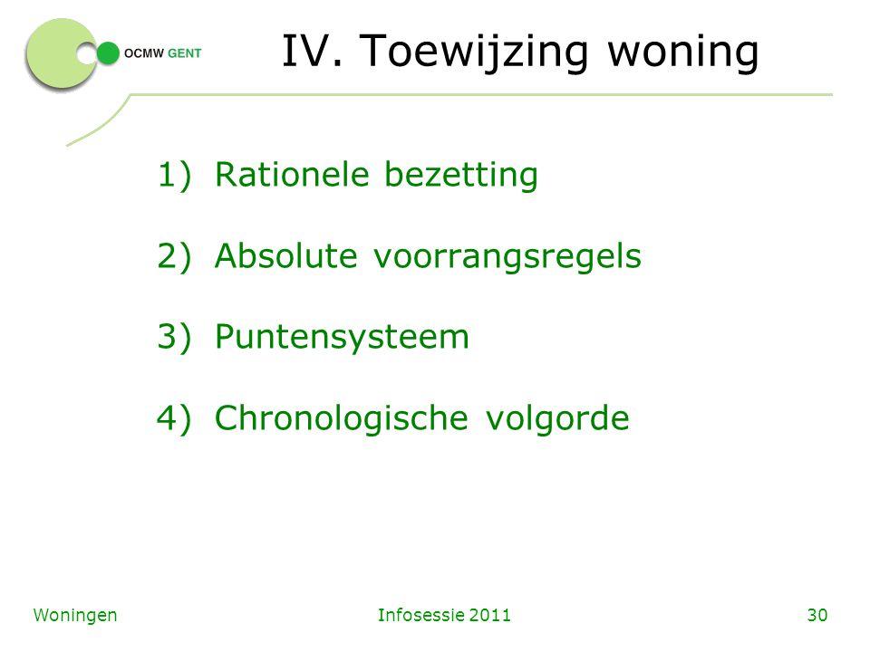 Infosessie 201130Woningen IV.