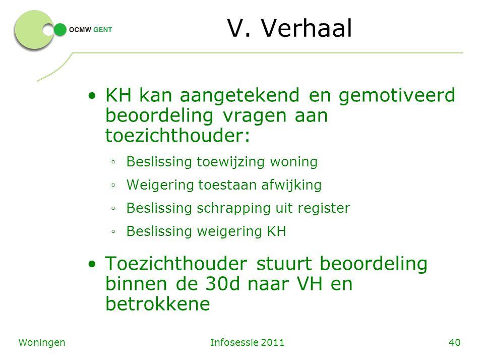 Infosessie 201140Woningen V.