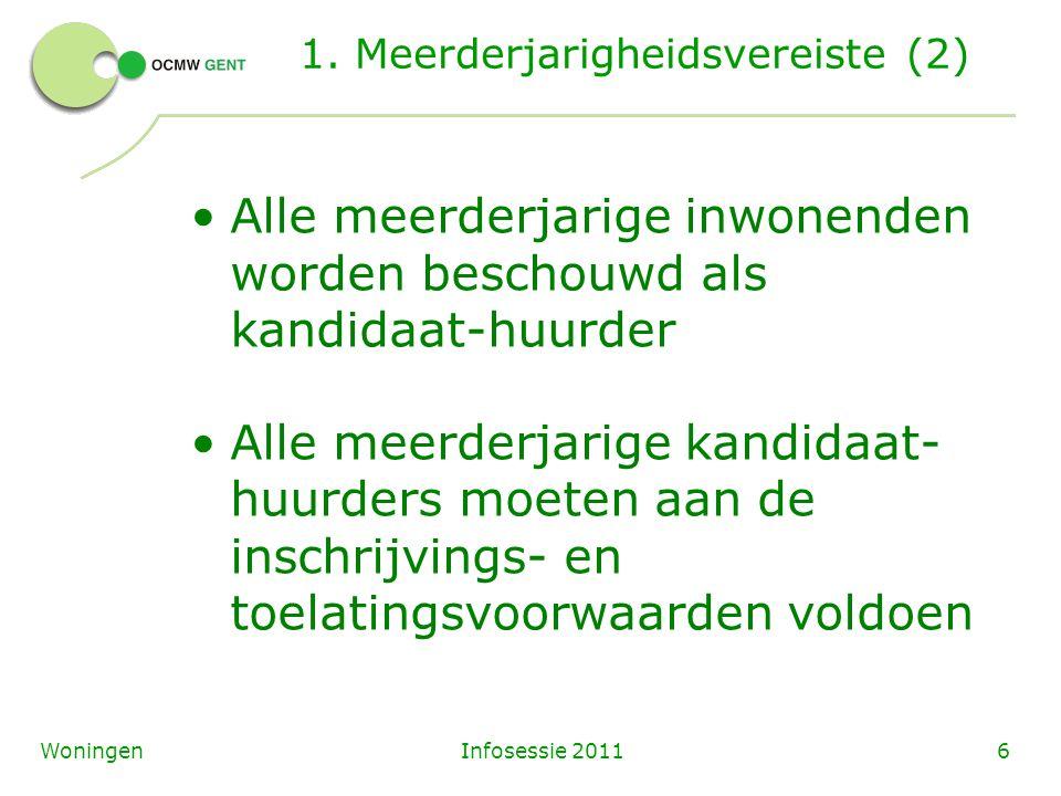 Infosessie 20116Woningen 1.