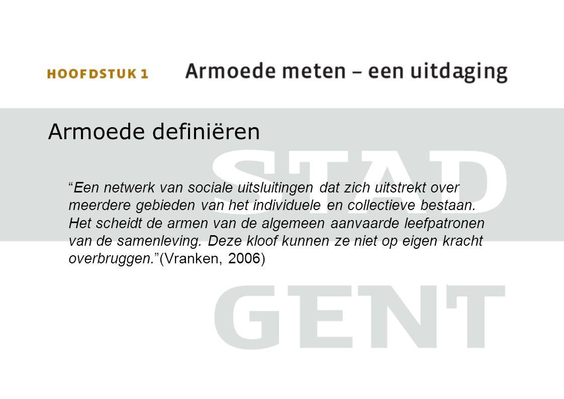 Gent: 5% woningen zonder comfort (geen toilet en/of badkamer) Op wijkniveau schommelt dit tussen 4% en 9% Nieuw Gent – UZ: 6% Zwijnaarde: 5% Stationsbuurt Zuid: 4% Sint Denijs Westrem: 4%