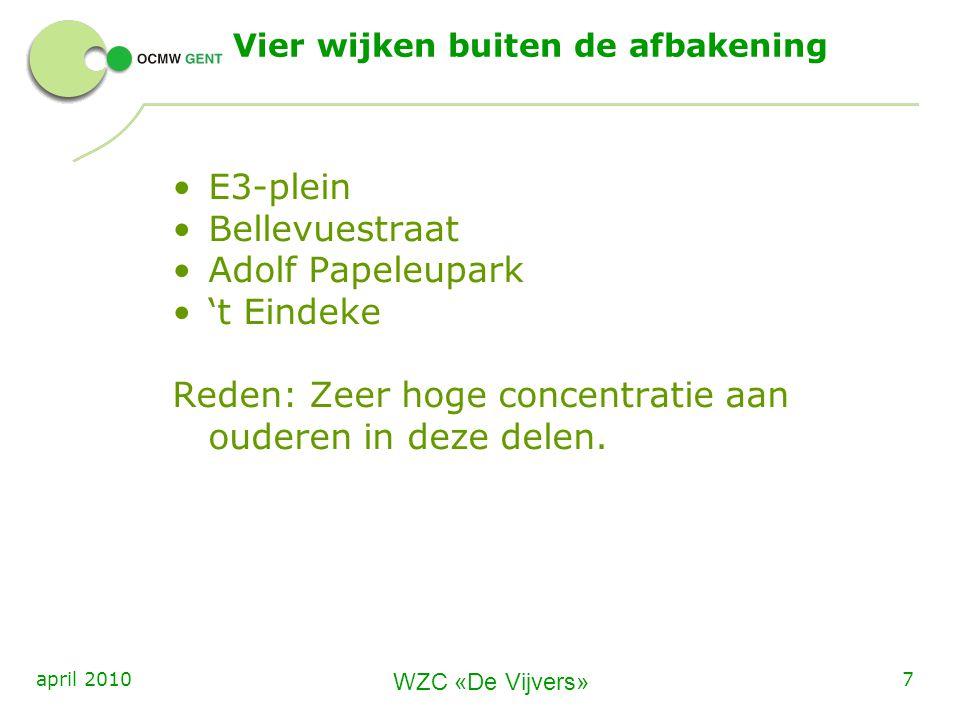 WZC De Vijvers 8april 2010 3.Welke dienstverlening.