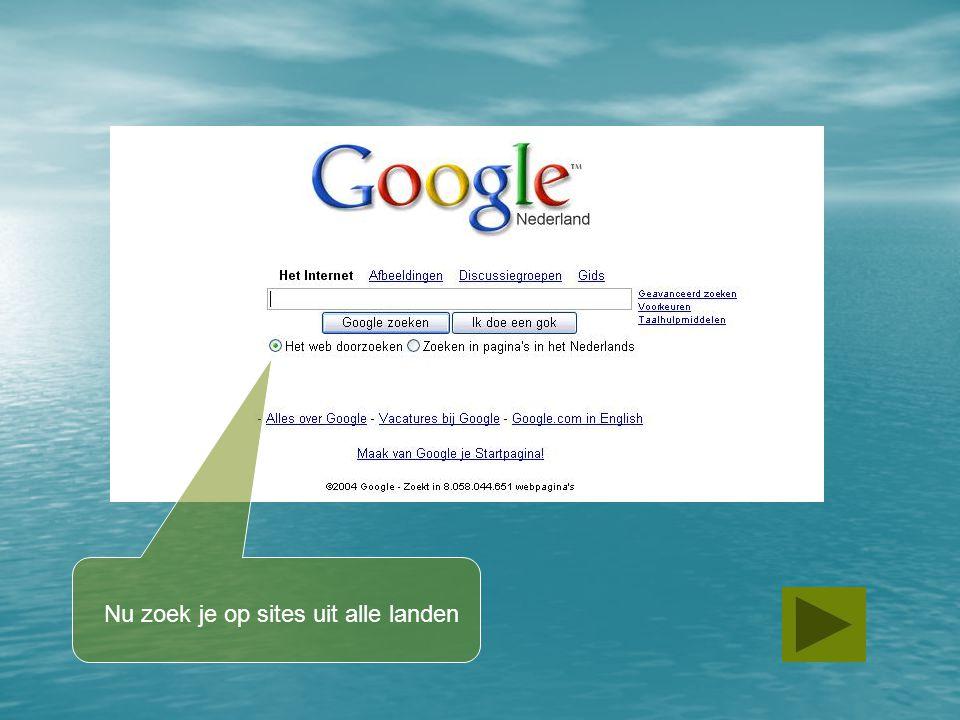 Bedankt voor het maken van les 1: Zoeken met een zoekmachine Arkelstein, School voor Praktijkonderwijs