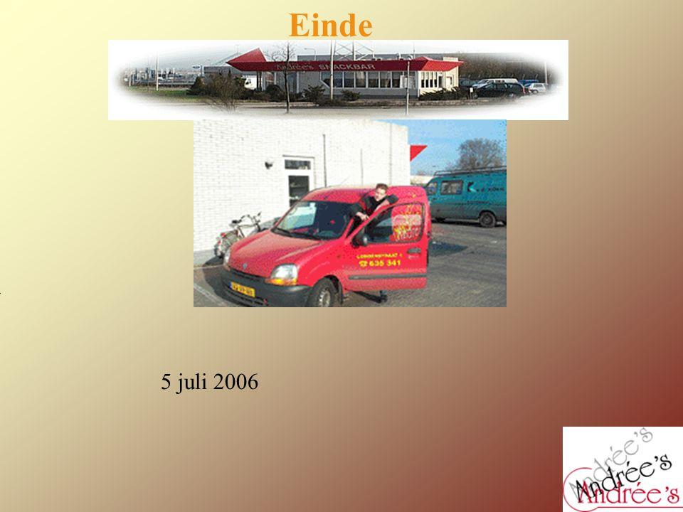 Einde Kan hier nog een foto van het bedrijf ?? 5 juli 2006