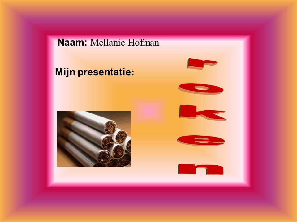 Ik heb deze presentatie gekozen omdat: * roken lekker is.