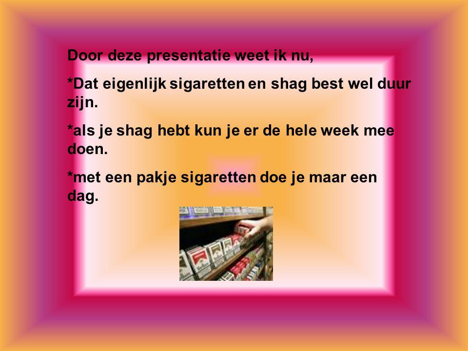 Internetsites over deze presentatie: * www.rokeninfo.nlwww.rokeninfo.nl * www.stivoro.nlwww.stivoro.nl * www.google.nlwww.google.nl Kijk naar de antwoorden van vraag 11 Voeg hier foto's of plaatjes in