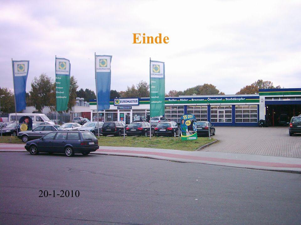 Einde Kan hier nog een foto van het bedrijf ?? 20-1-2010