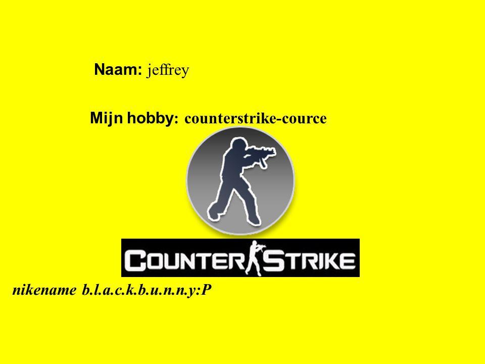 """Naam: jeffrey Mijn hobby : counterstrike-cource Klik op """"Naam"""". Vul je naam in. Doe hetzelfde met """"hobby"""" Hier kun je een foto / tekening Invoegen nik"""
