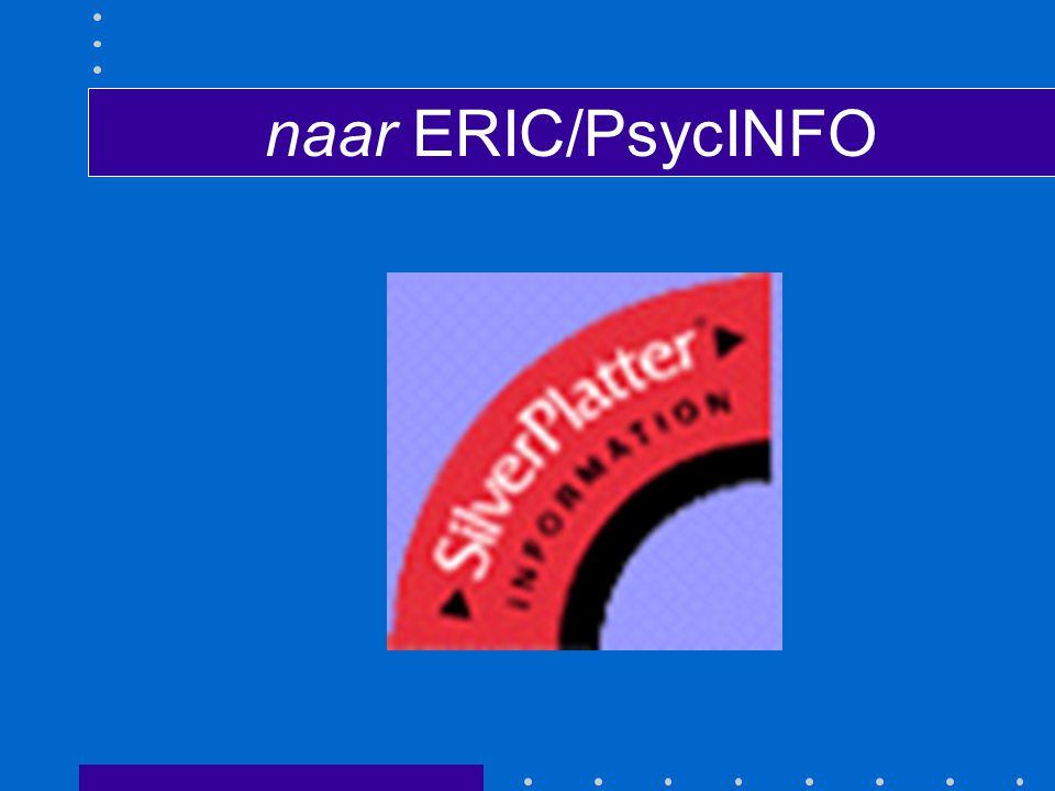 naar ERIC/PsycINFO