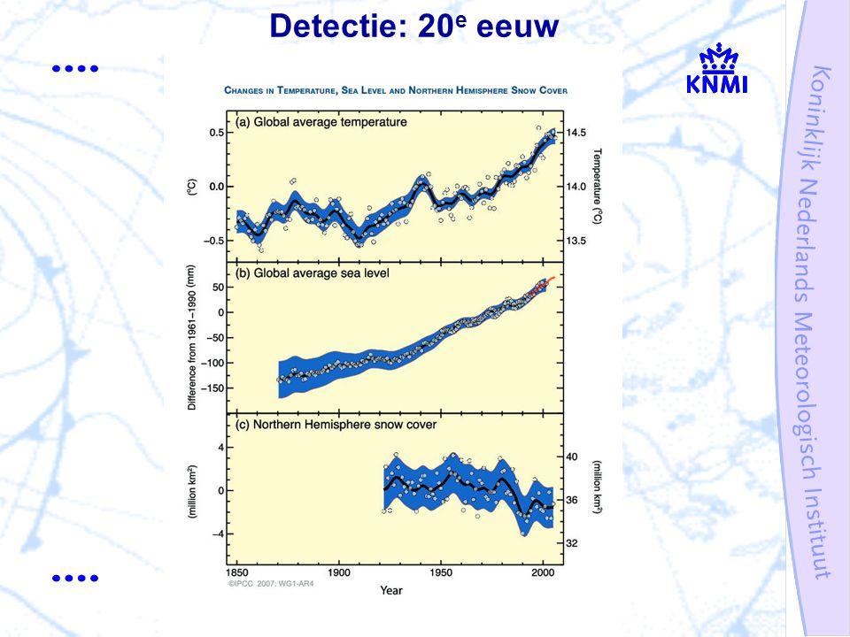 Detectie: 20 e eeuw